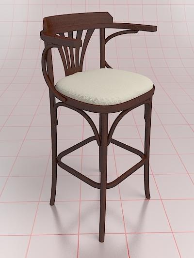 pub chair 3d model