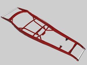 street rod frame 3d model