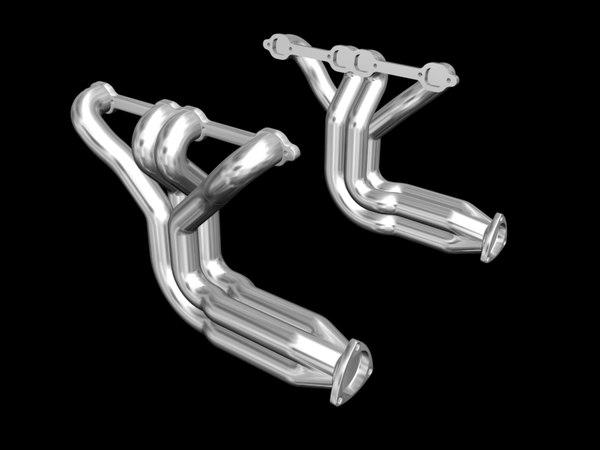exhaust headers rod street 3d model