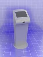 informnation computer 3d model