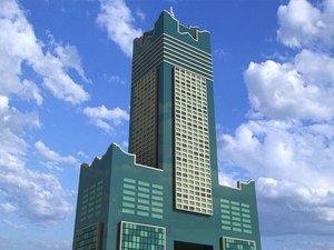 tuntex sky tower skyscrapers 3d max