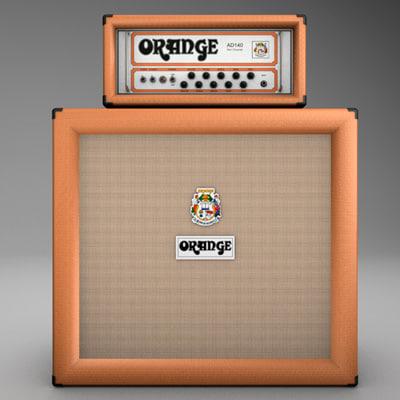 3ds max orange amp