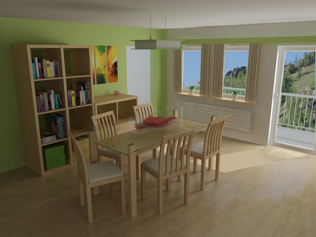 maya dining room