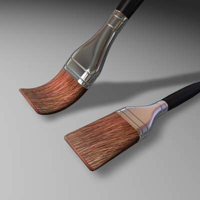 brush 3d 3ds