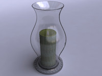 3ds max vase candle