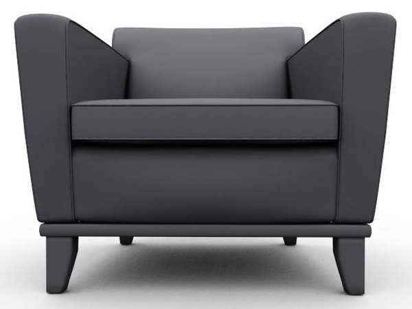 3d model mick chair carolina business