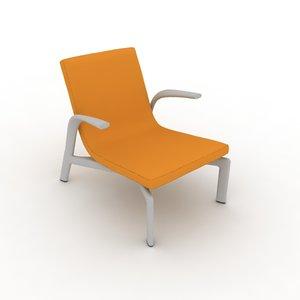 3d highy chair model