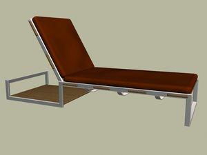3d air chaiselongue