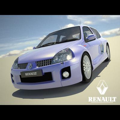 3ds max renault clio v6