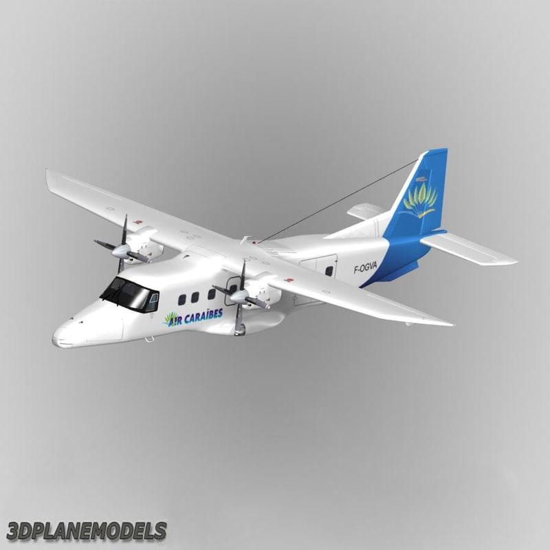 3ds max fairchild dornier 228 air