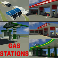 Gas Stations Collection