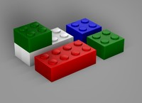 LEGO Bricks.c4d