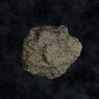 asteroid polygons c4d