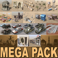 Collezione MEGA di Arab City-Elements