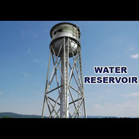 3d water reservoir model