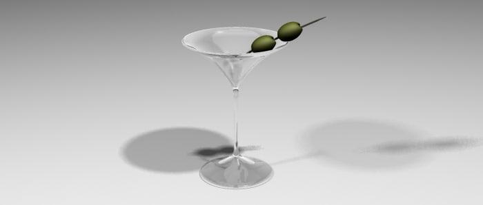 martini glass max