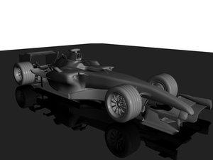 mclaren mp4-21 formula car 3d model