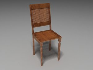 3ds max milton chair