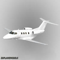 Embraer Phenom 100 Generic white