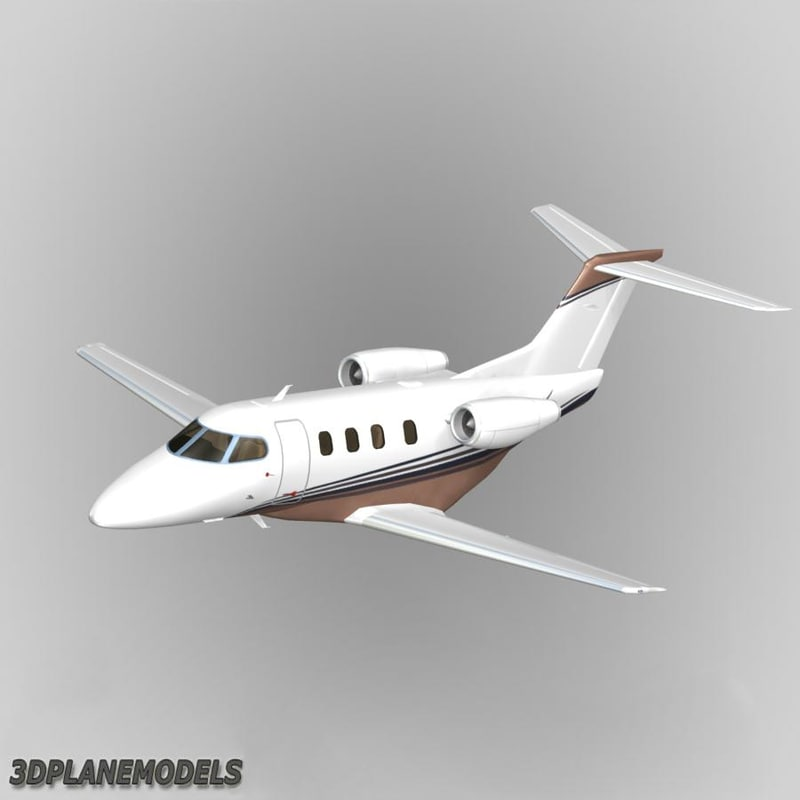 3ds max embraer phenom 100 private