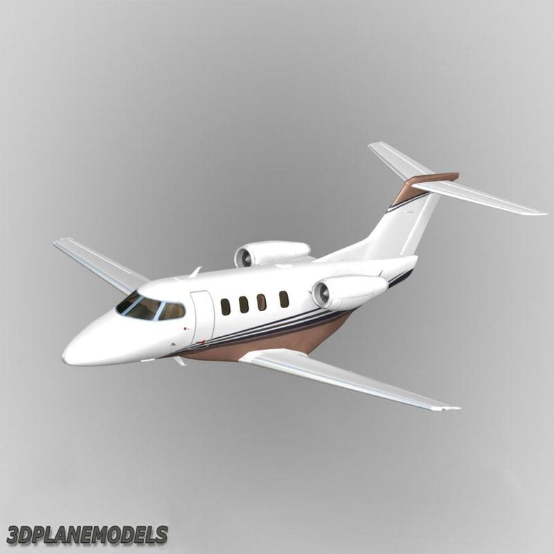 3ds max embraer phenom 100 private