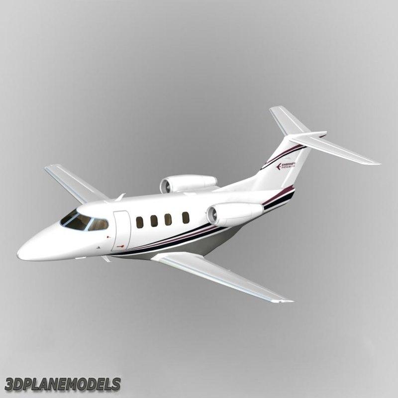 embraer phenom 100 private obj