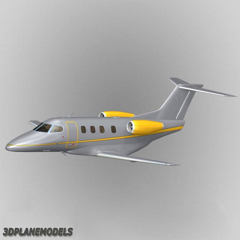 3d embraer phenom 100 private model