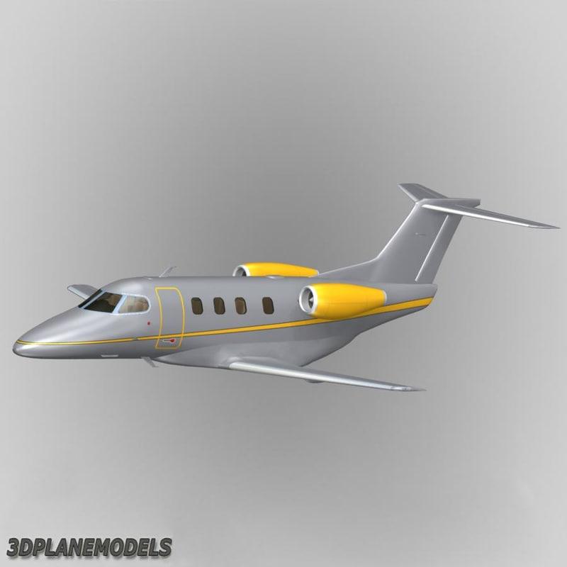 3d embraer phenom 100 private model