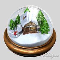 max snowglobe snow globe