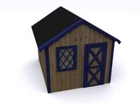 3d shed garden