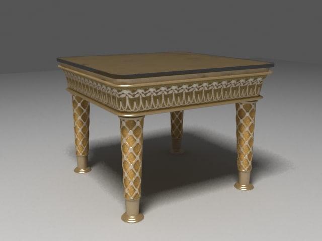 table venus 3d model