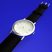 free watch 3d model