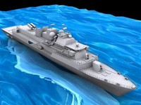3d model battleship barbaros f 244