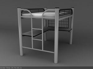 bunk bed desk max