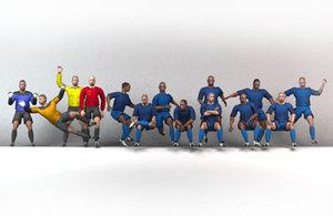 maya soccer team blue