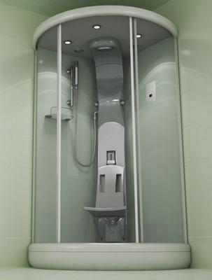 3ds max bath cabin