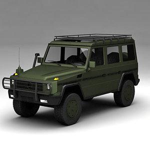 army g wagon 3d lwo