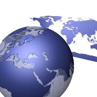 3d globe land model