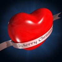 3ds max heart banner