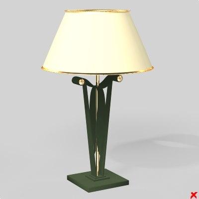 lamp 3d model