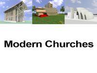 churches modern chapels max