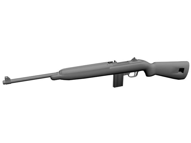 3d m1 carbine model