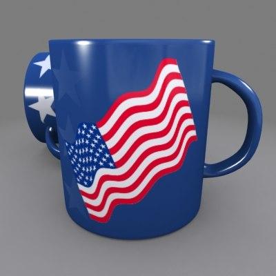 coffee mug 3d max