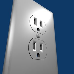 3ds max power outlet