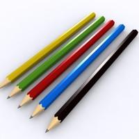 maya pencils