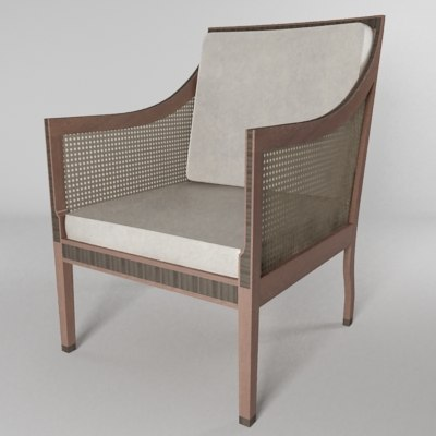 3d chair english