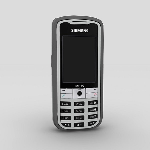 3d mobile phone siemens me75