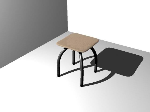 maya footstool tabouret