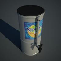 tea dispenser 3d model