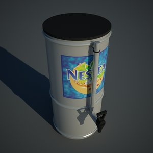 tea dispenser 3d model